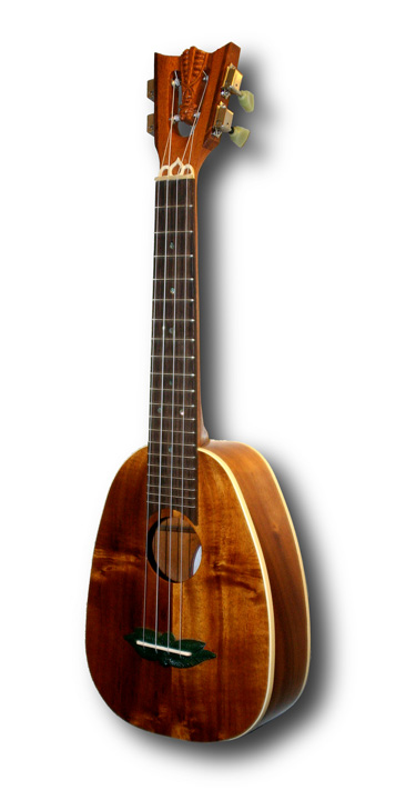 Pineapple Tenor Ukulele by Tiki King